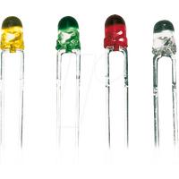 SLH 36 GE - LED, 3 mm, bedrahtet, gelb, 50 mcd, 50°