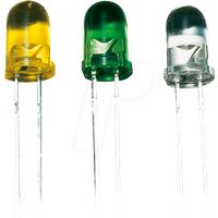 SLH 56 GE - LED, 5 mm, bedrahtet, gelb, 80 mcd, 30°