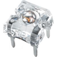VIS TLWR 8600 - Super-Flux-LED, 7,62x7,62 mm, rot, 0,8 mcd, 60°