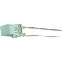 V 532 - Flat-LED, 5x5 mm, bedrahtet, grün, 8 mcd, 110°