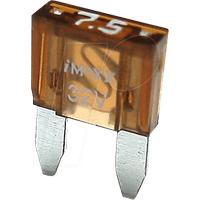 IMAXX F7075 - KFZ-Sicherung, miniOTO, 7,5 A, braun