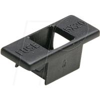 STV BS232NE - Sicherungshalter, 250 V, 6,3 A, schwarz