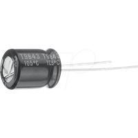 RUBY 50ZL22M - Becher-Elko, radial, 22 µF, 50 V, 105°C, 2000h