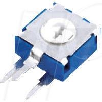 ACP 6-S 100K - Einstellpotentiometer, stehend, 100 kOhm, 6 mm