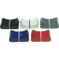 KNOPF 18,5X1,5WS - Faderknopf, gerippt T-Lever, weiß