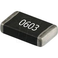 RND 0603 0 - SMD-Widerstand, 0603, 0 Ohm, 100 mW, 1%