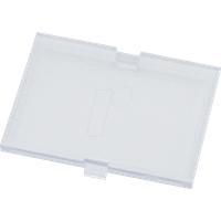 RND 455-00539 - Schnappverschluss-Abdeckung  , 42 x 32,1 x 2,5 mm