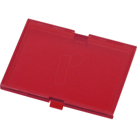 RND 455-00540 - Schnappverschluss-Abdeckung  , 42 x 32,1 x 2,5 mm