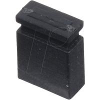 MPE 149-2-002-F0 - Jumper 2,54 mm, geschlossen, schwarz
