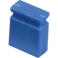 MPE 149-2-002-F3 - Jumper 2,54 mm, geschlossen, blau