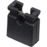 MPE 149-1-002-F0 - Jumper 2,54 mm, geöffnet, schwarz