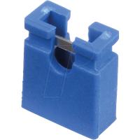 MPE 149-1-002-F3 - Jumper 2,54 mm, geöffnet, blau