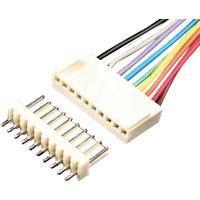 PS 25/3G WS - Platinensteckverbinder gerade, weiss, 3-polig