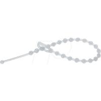 RND CABLE 475-00434 - Kabelbinder, wiederlösbar, 180 mm, natur, 100er-Pack