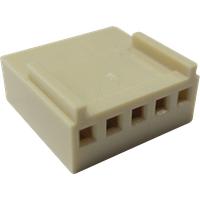 RND 205-00665 - Crimpgehäuse, 1x 5 -polig, Buchse