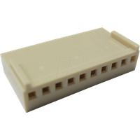 RND 205-00670 - Crimpgehäuse, 1x 10 -polig, Buchse