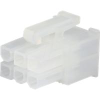 MOLEX 39012060 - Molex Crimpgehäuse - Mini-Fit Jr - 2x3-polig - Buchse