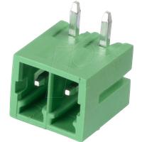 CTB932HD-2 - Stiftleiste - 2-pol, RM 3,5 mm, 90°