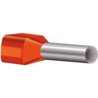 AEHI 1,5-100 - 100er Pack Aderendhülsen-isoliert 1,5mm²