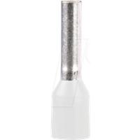 SE DZ5CE005L6 - Aderendhülse Linergy DZ5. Ø 0,5 mm², Weiß, 1 Stück