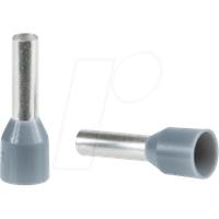 SE DZ5CE025 - Aderendhülse Linergy DZ5. Ø 2,5 mm², Grau, 1 Stück