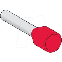 SE DZ5CEB010D - Aderendhülse Linergy DZ5. Ø 1 mm², Rot, 1 Stück