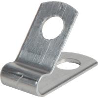 KAB-SCHELLE AL-2 - Kabelschelle, Aluminium, ø 3,2 mm