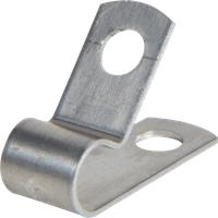 KAB-SCHELLE AL-4 - Kabelschelle, Aluminium, ø 6,4 mm