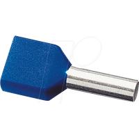 AEHT 1,0-100 - 100er Pack Twin-Aderendhülsen 1,0mm²