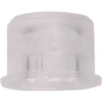 KAPPE 1D16 - Kappe für Taster 3F.., rund, trans. matt ws