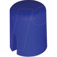 RND 210-00222 - Kappe blau rund 4,5 x 5,5 mm