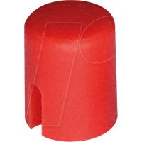 RND 210-00224 - Kappe rot rund 4,5 x 5,5 mm