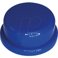 RND 210-00232 - Kappe blau rund 10 x 5,7 mm