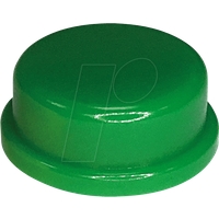 RND 210-00238 - Kappe grün rund 10 x 5,7 mm