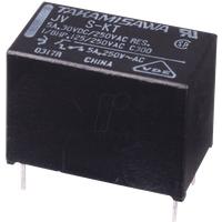 JV 05 - Miniatur-Leistungsrelais JV ,5V, 1 Schließer 5A