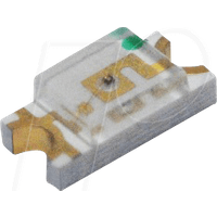 RND 135-00189 - LED, SMD, 1206, gelb, 150 mcd