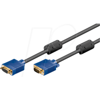 AK SVGA 203 HQ - VGA Monitor Kabel 15-pol VGA Verlängerung, 3 m