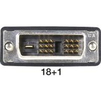 AK DVI 111-3 - DVI Monitor Kabel DVI 18+1 Stecker, Single Link, 3 m