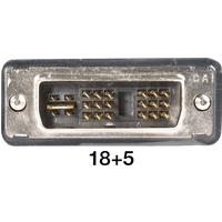 AK DVI 112-2 - DVI Monitor Kabel DVI 18+5 Stecker, Single Link, 2 m
