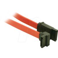 AK SATA 03 LG - Seriell-ATA Kabel, 30cm, gewinkelt