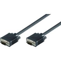 AK SVGA 101 - VGA Monitor Kabel 15-pol VGA Stecker, 0,8 m