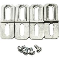 RND 455-00480 - Montagehalterung, Aluminium, 4-teilig