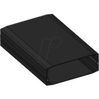 APRA-NORM X40-110 160 - Ober-/Unterschale, 105,8 x 38,7 mm, schwarz, IP65