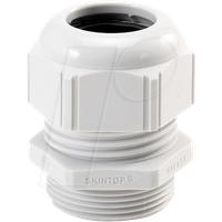 LAPP 53111400 - Kabelverschraubung, M 12 x 1,5, Ø 3,5 - 7 mm, lichtgrau, IP69