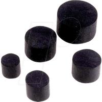 LAPP 54113000 - Staubschutz, Ø 7,2 mm, schwarz, IP68