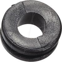 KDF 4 - Kabeldurchführung, ringförmig, Ø-innen 4mm
