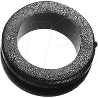 KDF 8 - Kabeldurchführung, ringförmig, Ø-innen 8mm