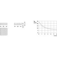 V ICK BGA23X23 - Kühlkörper für BGA, 23 x 23 x 6 mm
