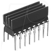 ICK 14 16 L - Kühlkörper 6,3 x 4,8 x 19 mm, für DIL - IC