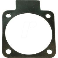 D105-70 - Flansch für Anbausteckdose 70 x 70 mm